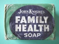 "zz John Knight's ""Family Health Soap"" (vintage bar) in original wrapper (c.1930s) (SOLD)"